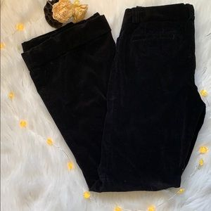 Vintage 90s 00s Black corduroy pants with flare